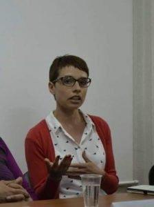 Бојана Јовановска, проектна координаторка на Хелсиншки комитет за човекови права